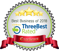Three Best Rated, Best Business of 2018